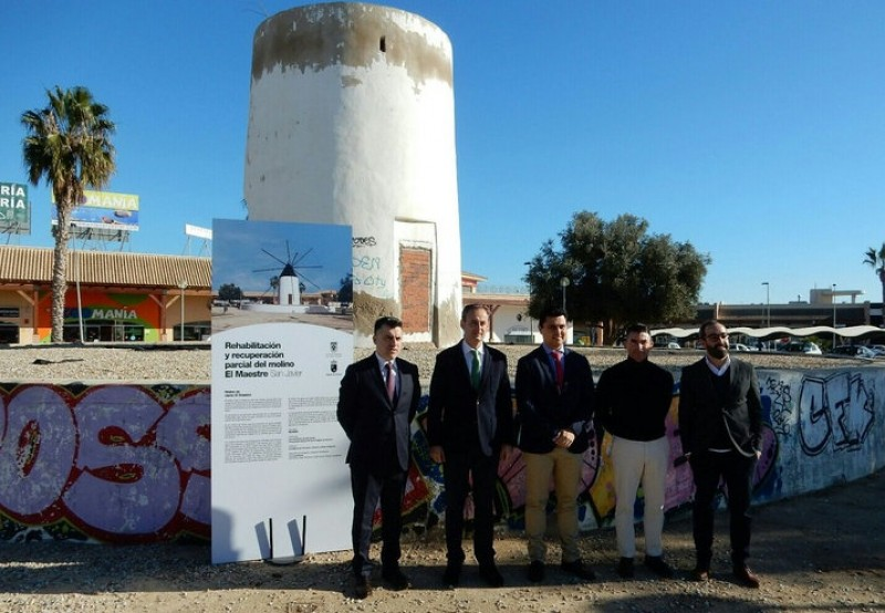 <span style='color:#780948'>ARCHIVED</span> - Historic San Javier windmill restoration project presented
