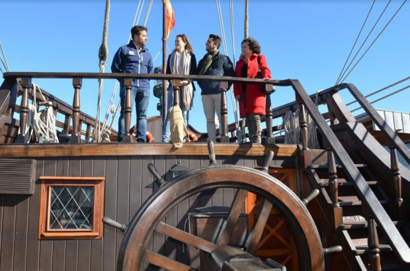 Historic Spanish galleon in Águilas port until Sunday