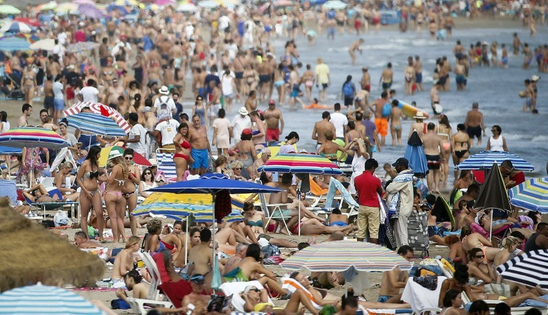 Spain on course to become second most popular tourist destination in the world
