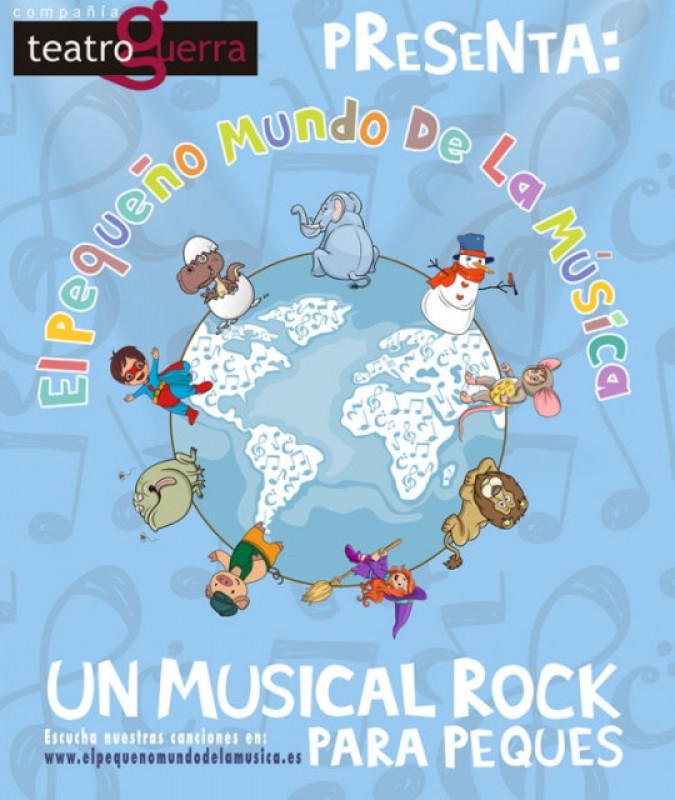 13th April Lorca: Rock musical for children at the Teatro Guerra