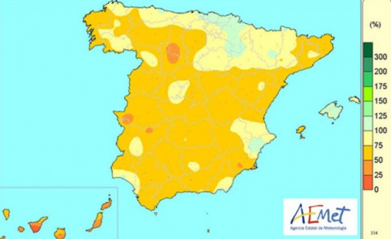 2017 was the warmest year on record in Spain and the second driest