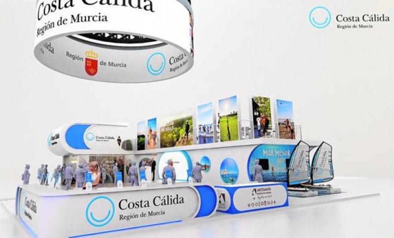 <span style='color:#780948'>ARCHIVED</span> - Murcia highlights Corvera airport and its cultural heritage at the FITUR tourism fair
