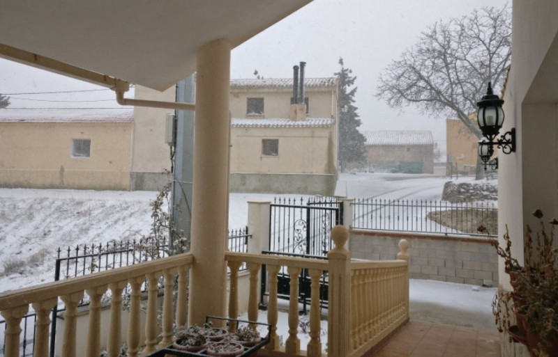 More light snow in the north-west of Murcia over the weekend