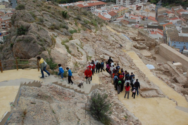 10th February Alhama de Murcia; see the best views of the town on the guided castle tour