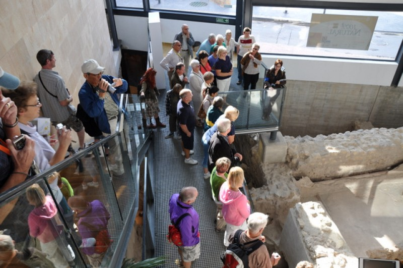 14th April Alhama de Murcia: Free ENGLISH language tour of baths and archaeological museum