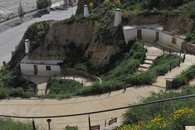 27th and 28th January guided tour of Medina Nogalte castle and cave house complex in Puerto Lumbreras