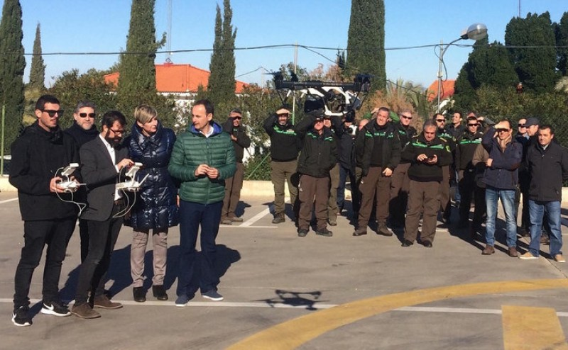 Drones to be used for wild fire detection and prevention in Murcia
