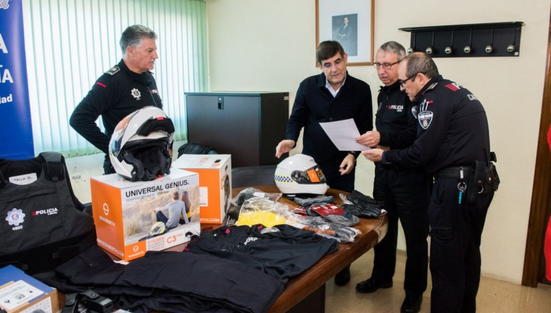 Cartagena police acquire new self-protection equipment