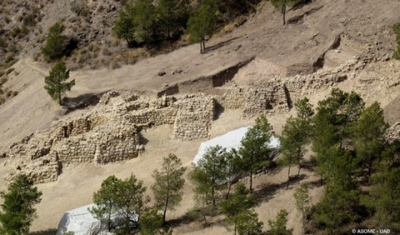 Archaeologists prepare to abandon the 4,000-year-old Argaric site of La Bastida in Totana