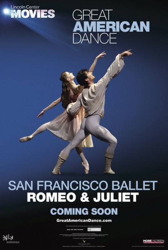 25th January: Live screening of Romeo and Juliet ballet at Las Velas cinema, Los Alcázares