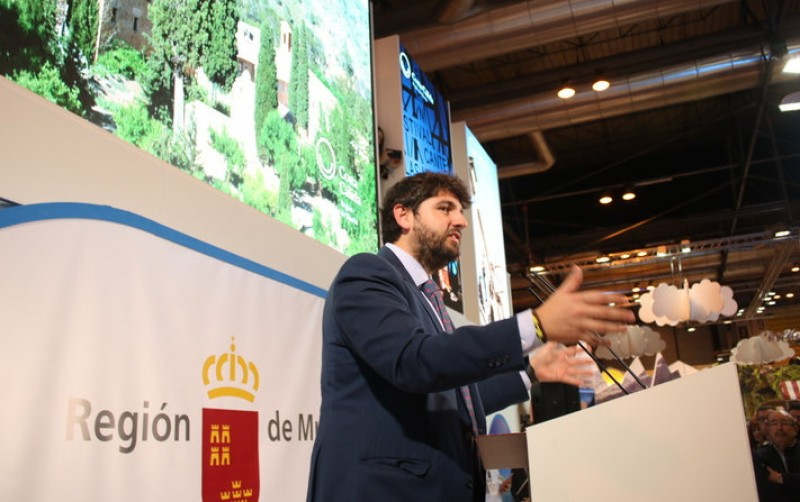 Murcia president forecasts massive growth in tourism when Corvera airport opens