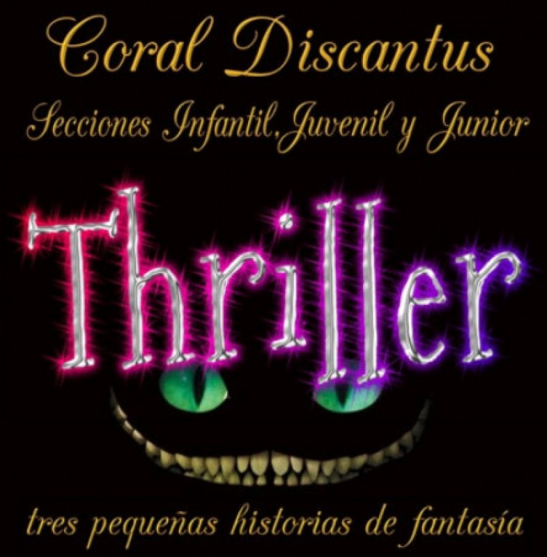 10th June, Thriller, choral music at the Auditorio Víctor Villegas in Murcia