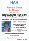 14th March Help at Home raises a glass to mums everywhere
