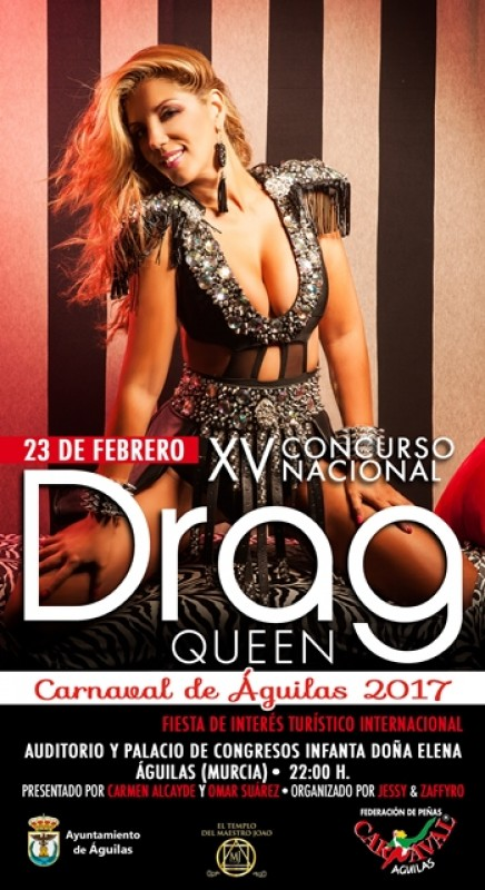 23rd February Águilas Carnival Drag Queen Competition