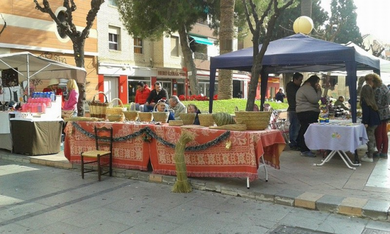 25th February Artisan market in Alcantarilla