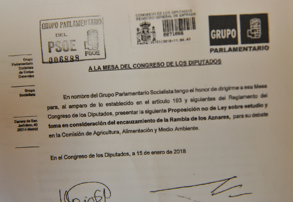 Murcia Today Provisional Agreement To Divert Rambla On Camposol