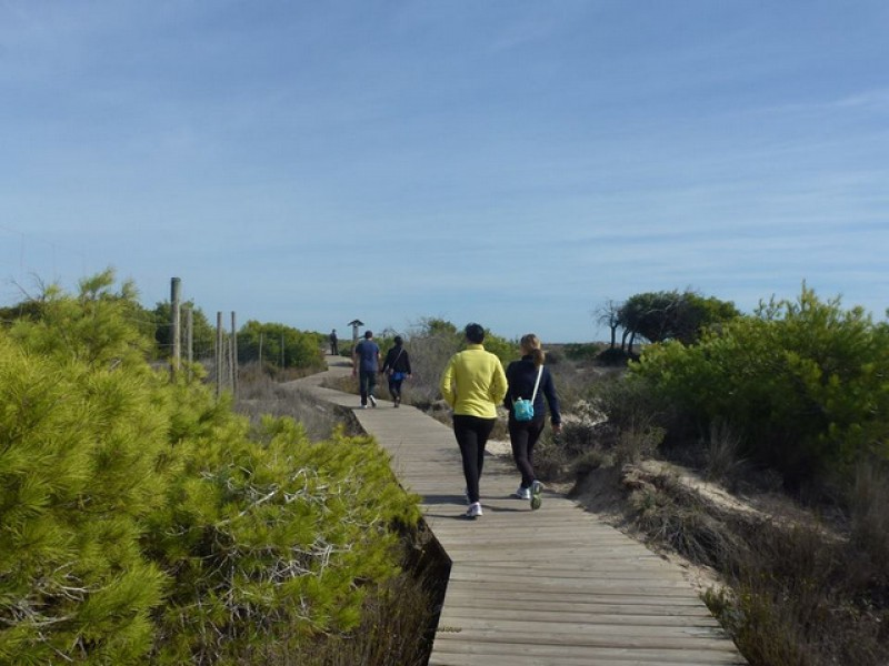 25th February: Free guided walk; Life in the world of salt, San Pedro del Pinatar
