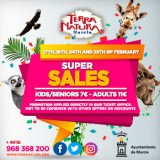 24th and 25th February, cut price admission at the Terra Natura wildlife park in Murcia