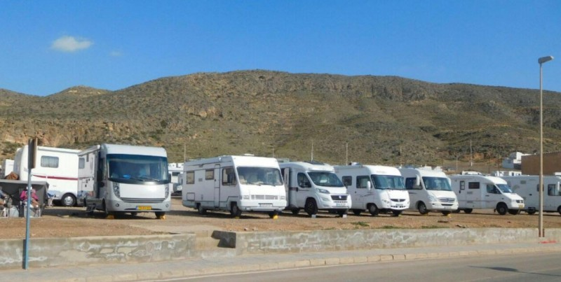 Residents complain about motorhome tourists in La Azohía