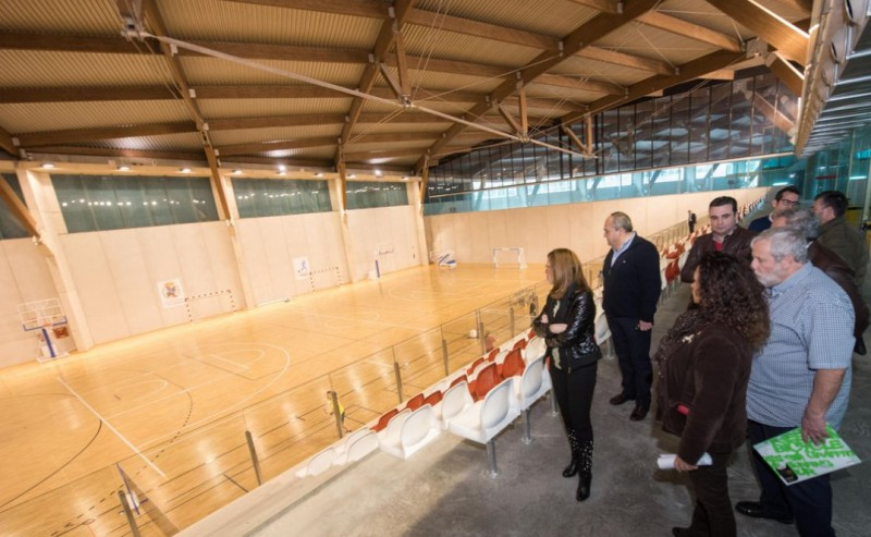<span style='color:#780948'>ARCHIVED</span> - Cartagena sports pavilion moves closer to opening
