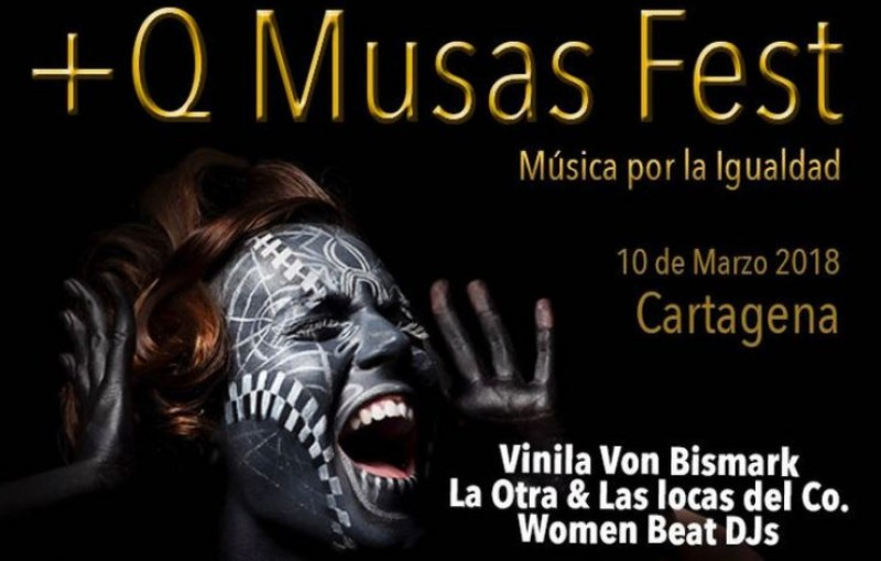 <span style='color:#780948'>ARCHIVED</span> - 10th March, free Women's Day concert featuring Vinila von Bismarck in Cartagena