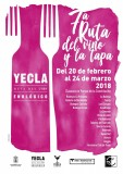 20th February to 24th March Yecla tapas route