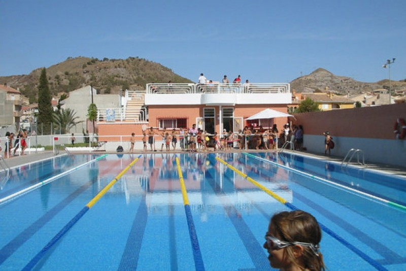 Plans reported to build two open-air swimming pools at the new Mazarrón sports complex