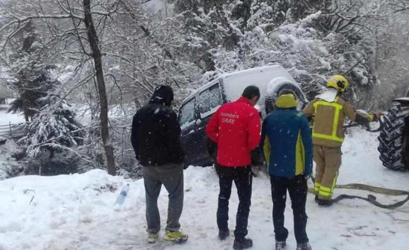Heavy snow returns to Catalunya and the rest of northern Spain