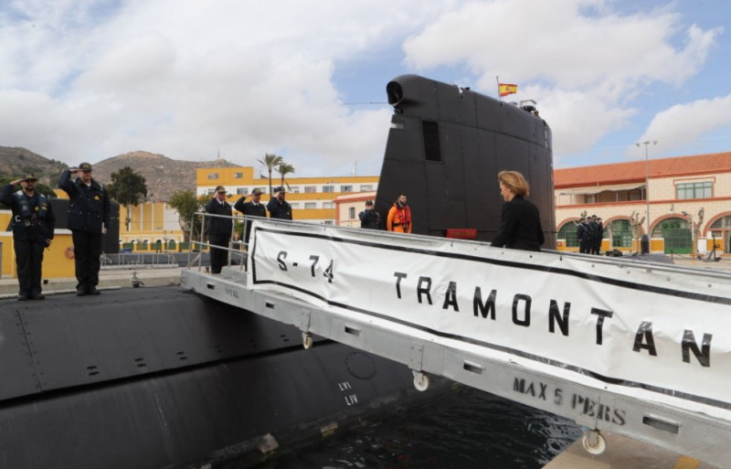 <span style='color:#780948'>ARCHIVED</span> - Construction of the first S-80 class submarine in Cartagena to be completed in 2022