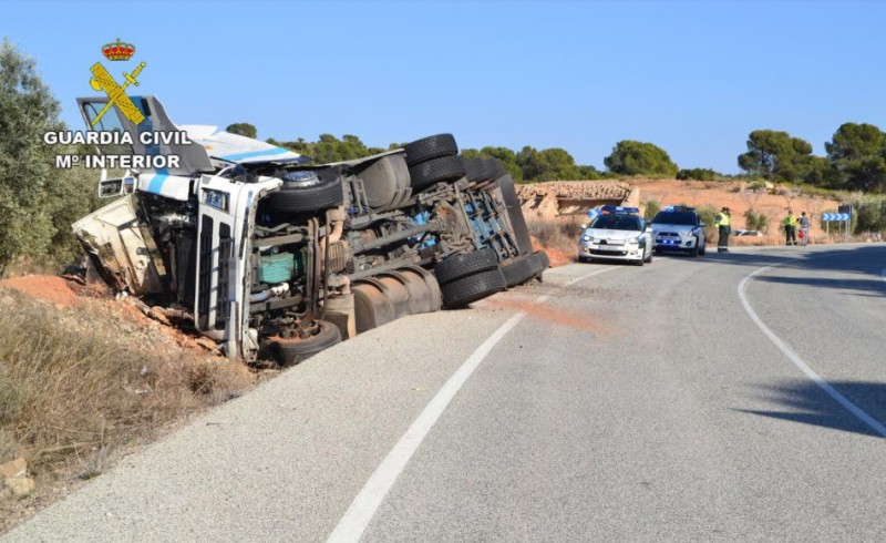 Three HGV drivers caught under the influence of drugs and alcohol in a week in Murcia