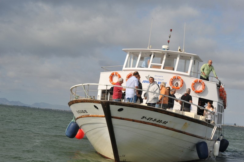 14th March FREE ENGLISH language boat trip on the Mar Menor