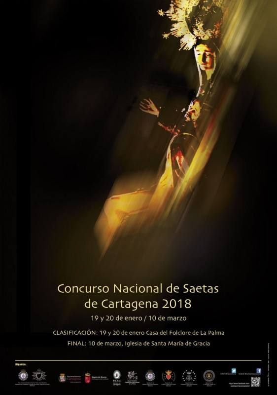 <span style='color:#780948'>ARCHIVED</span> - 10th March free entry Flamenco saetas in Cartagena