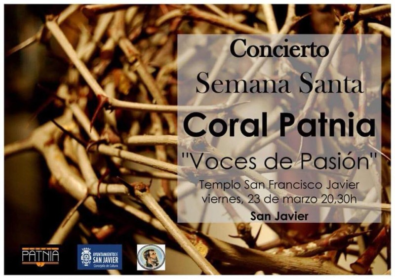 23rd March, free Easter choral concert in San Javier