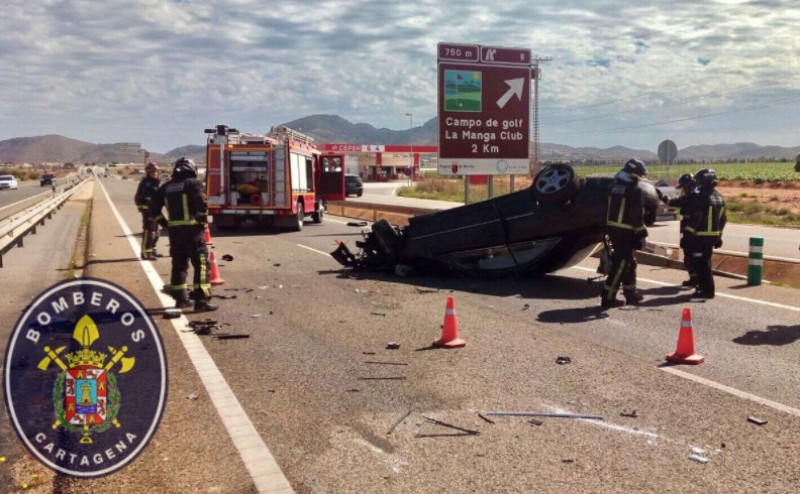 <span style='color:#780948'>ARCHIVED</span> - Three injured in Murcia road accidents over the weekend