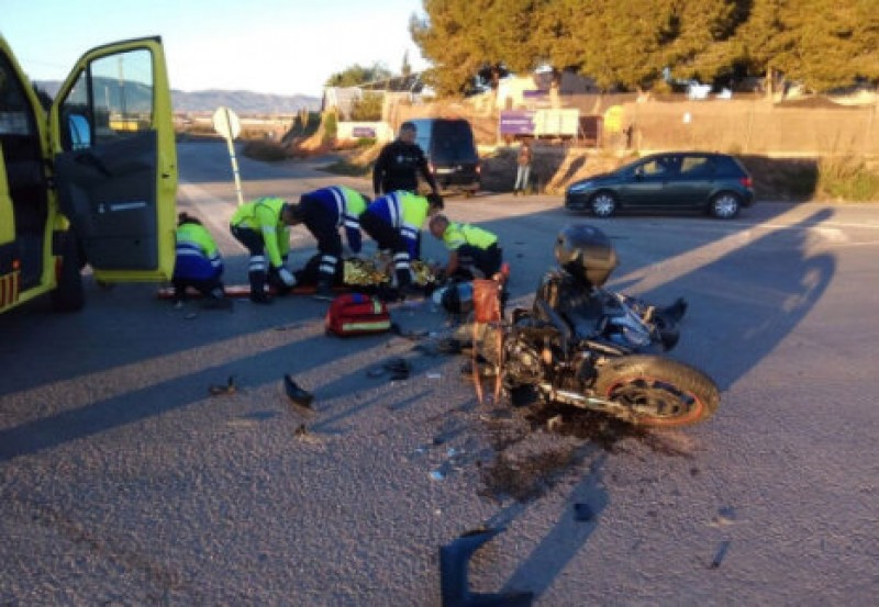 Three injured in Murcia road accidents over the weekend