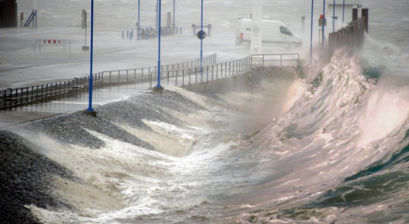 Winds of up to 150 km/h in Galicia!