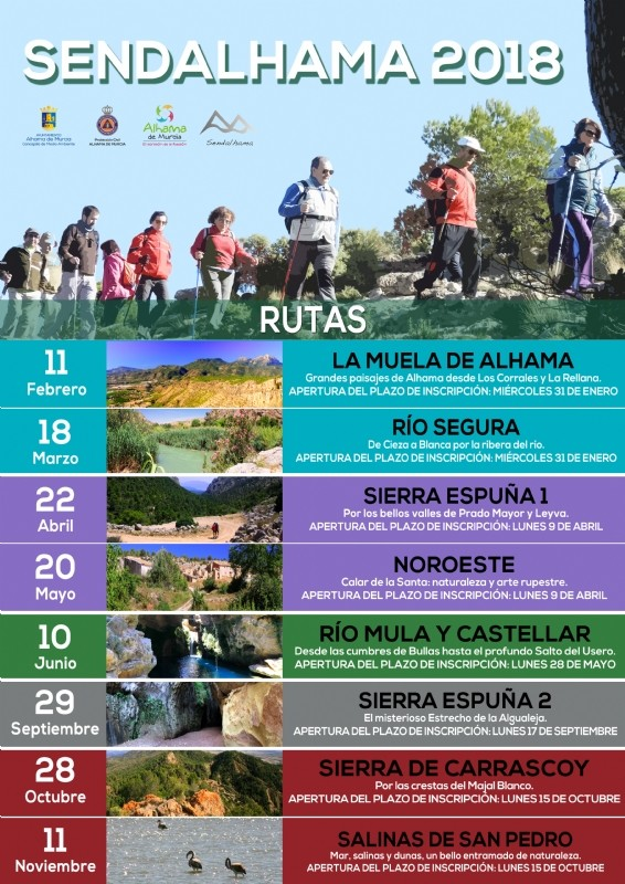 12th to 19th March What's on in Alhama de Murcia