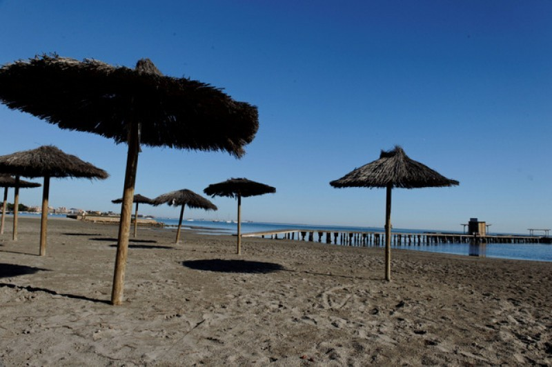 San Javier beaches being spruced up for Semana Santa