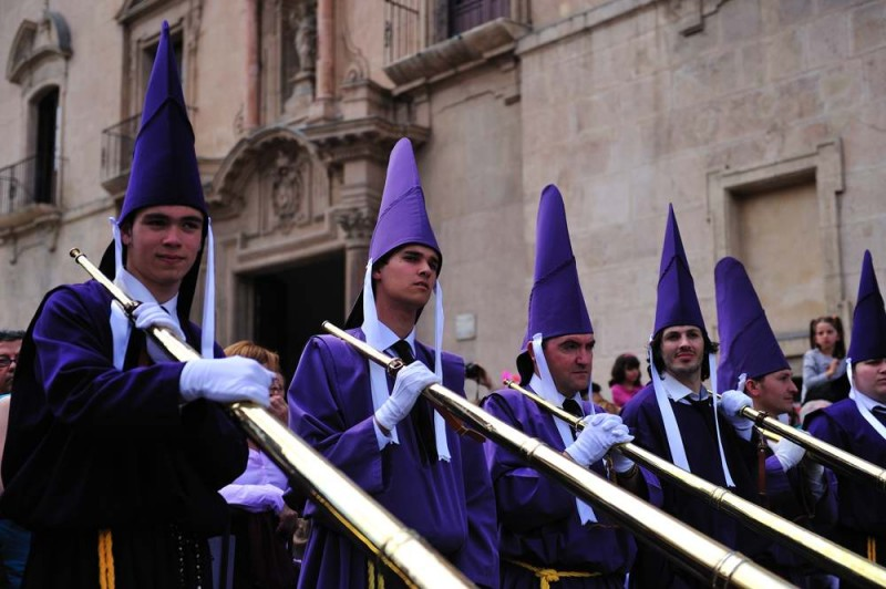 23rd March to 1st April, Semana Santa processions in the city of Murcia 2018
