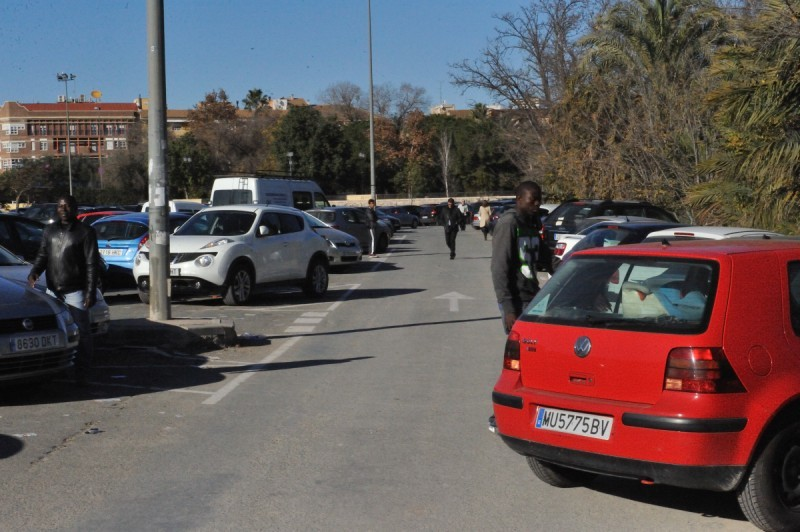 Murcia police clamping down on car parking bullies