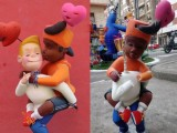 """Homophobic"" vandalism on children's ninot at the Fallas in Valencia"