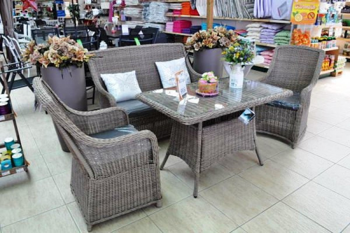 Naura Garden Centre in Mazarrón, all the very latest in garden furniture and barbecues