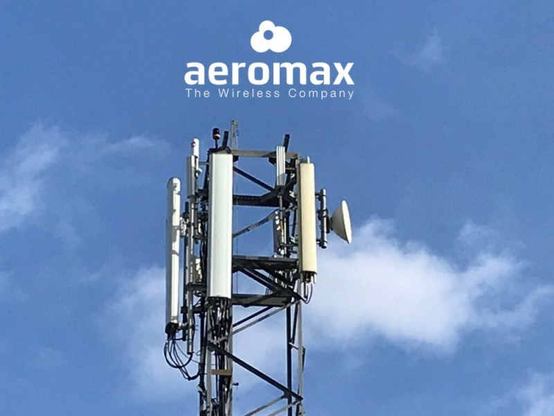 Aeromax, 5G wireless internet anywhere in the Region of Murcia