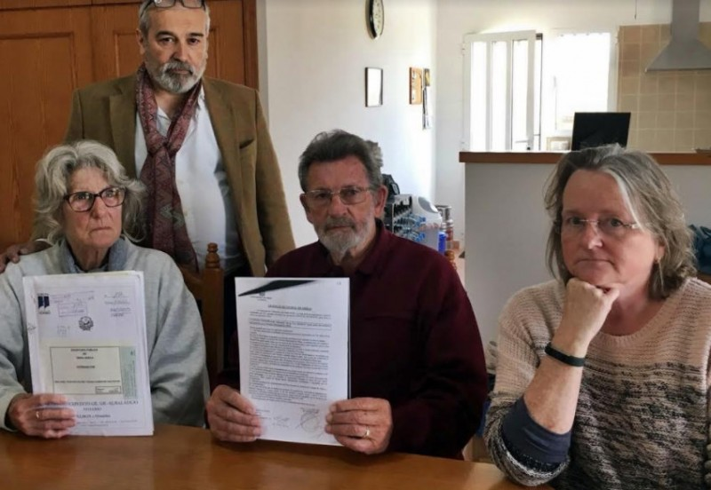 <span style='color:#780948'>ARCHIVED</span> - Anger over unjust demolition order served on British pensioners in Almería