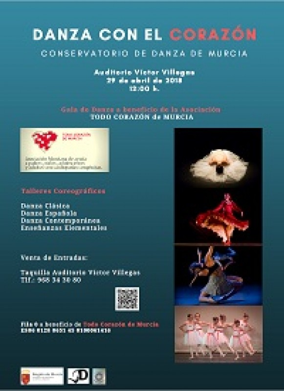 29th April La Danza con el Corazon at Murcia Auditorium