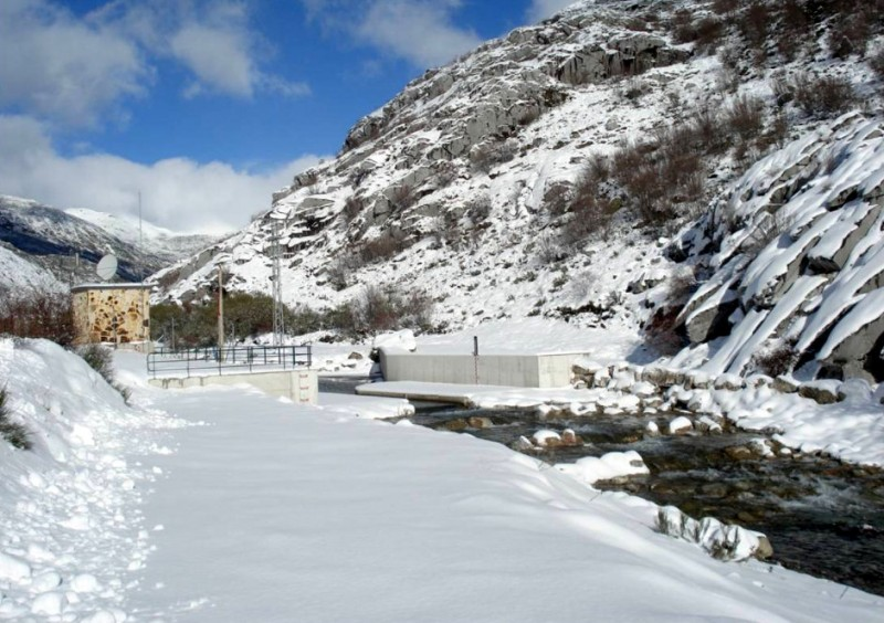 Snow and flood alerts in northern and central Spain