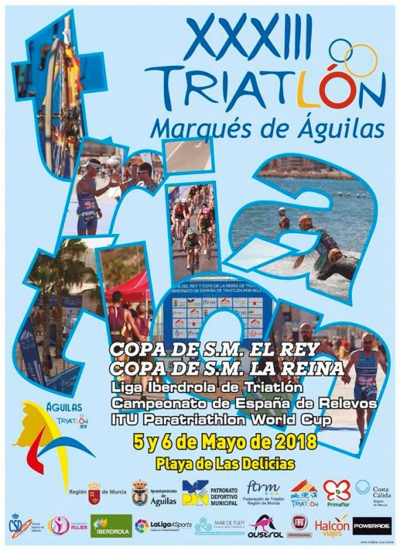 5th and 6th May XXXIII Triathlon Marqués de Águilas