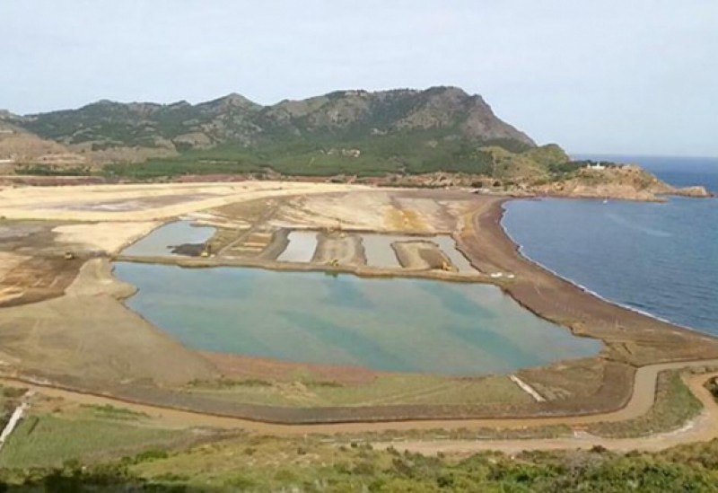 Portmán bay regeneration project: steriles will not be removed until next year