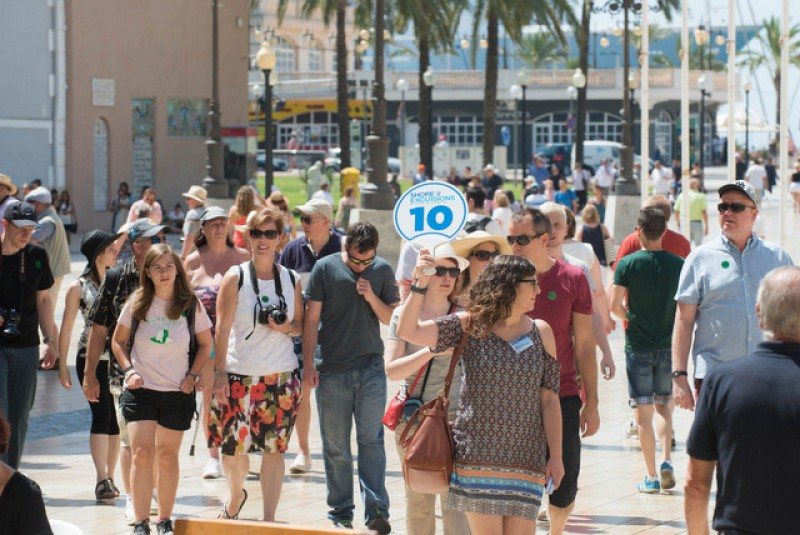 Foreign tourist spending in Murcia up by 45 per cent in January and February