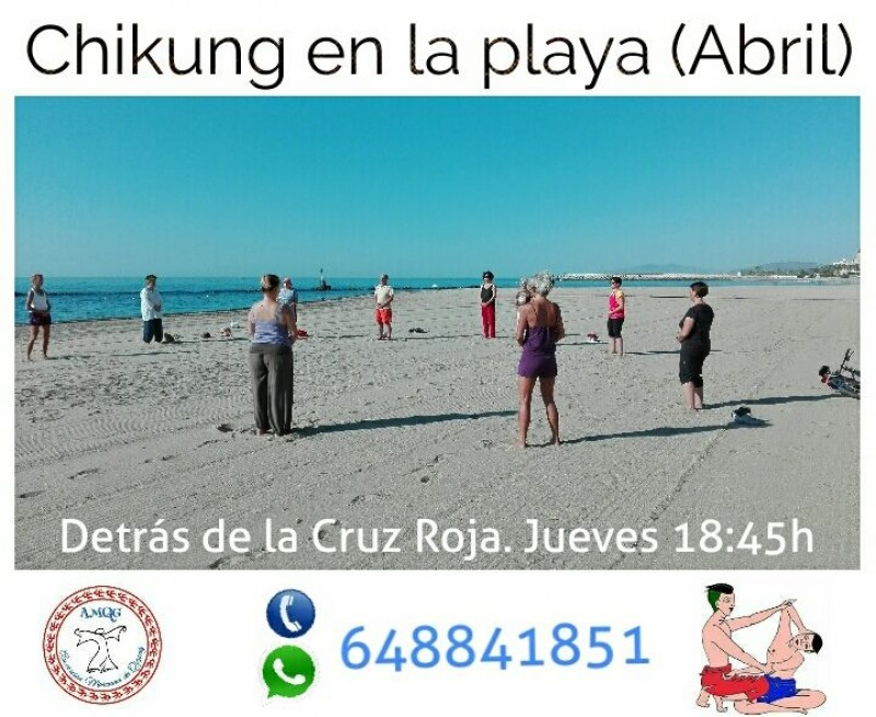 Every Thursday Tai-Chi on the beach in Águilas